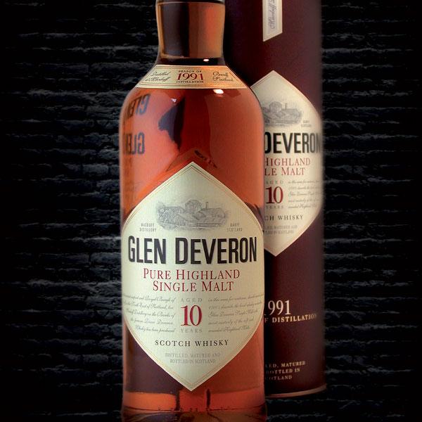 Co-création packaging Glen Deveron par GL COCRÉA