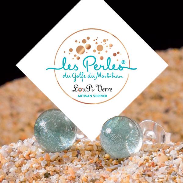 Co-création logo Les Perles du Golfe du Morbihan par GL COCRÉA